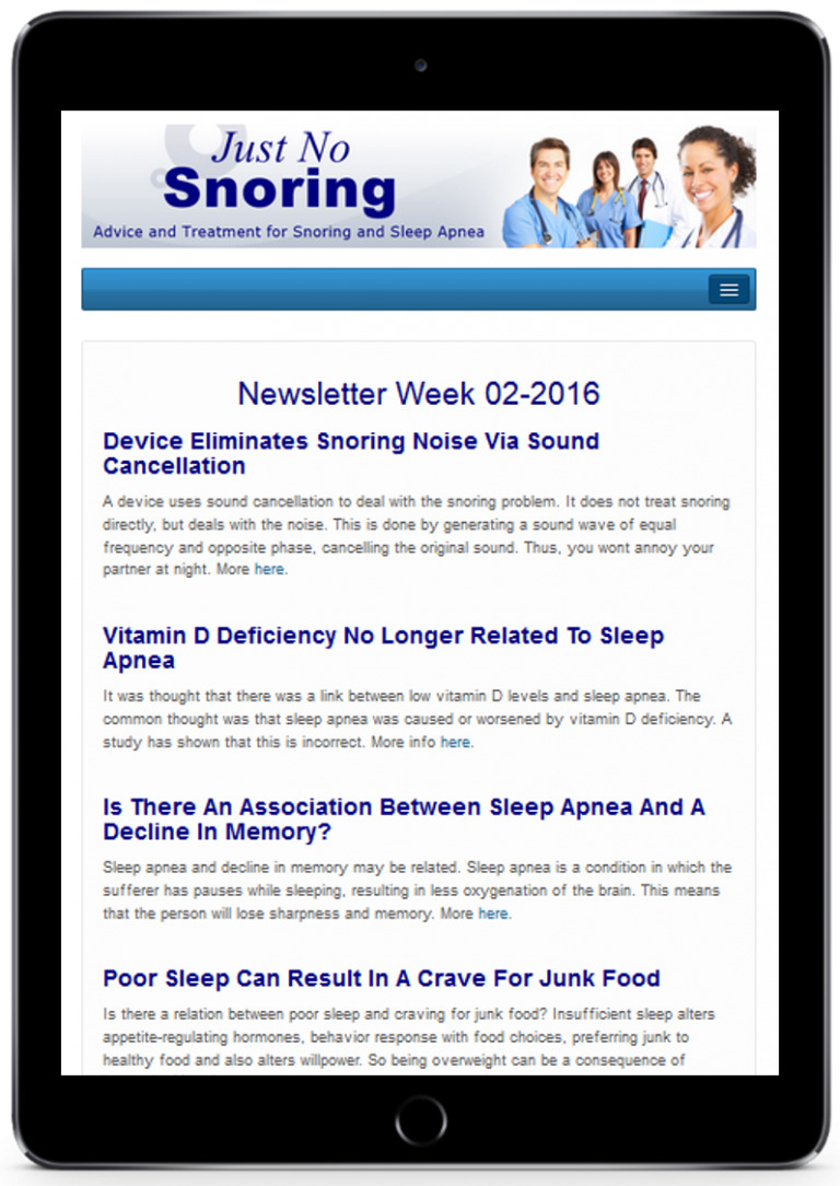 snoring, sleep apnea